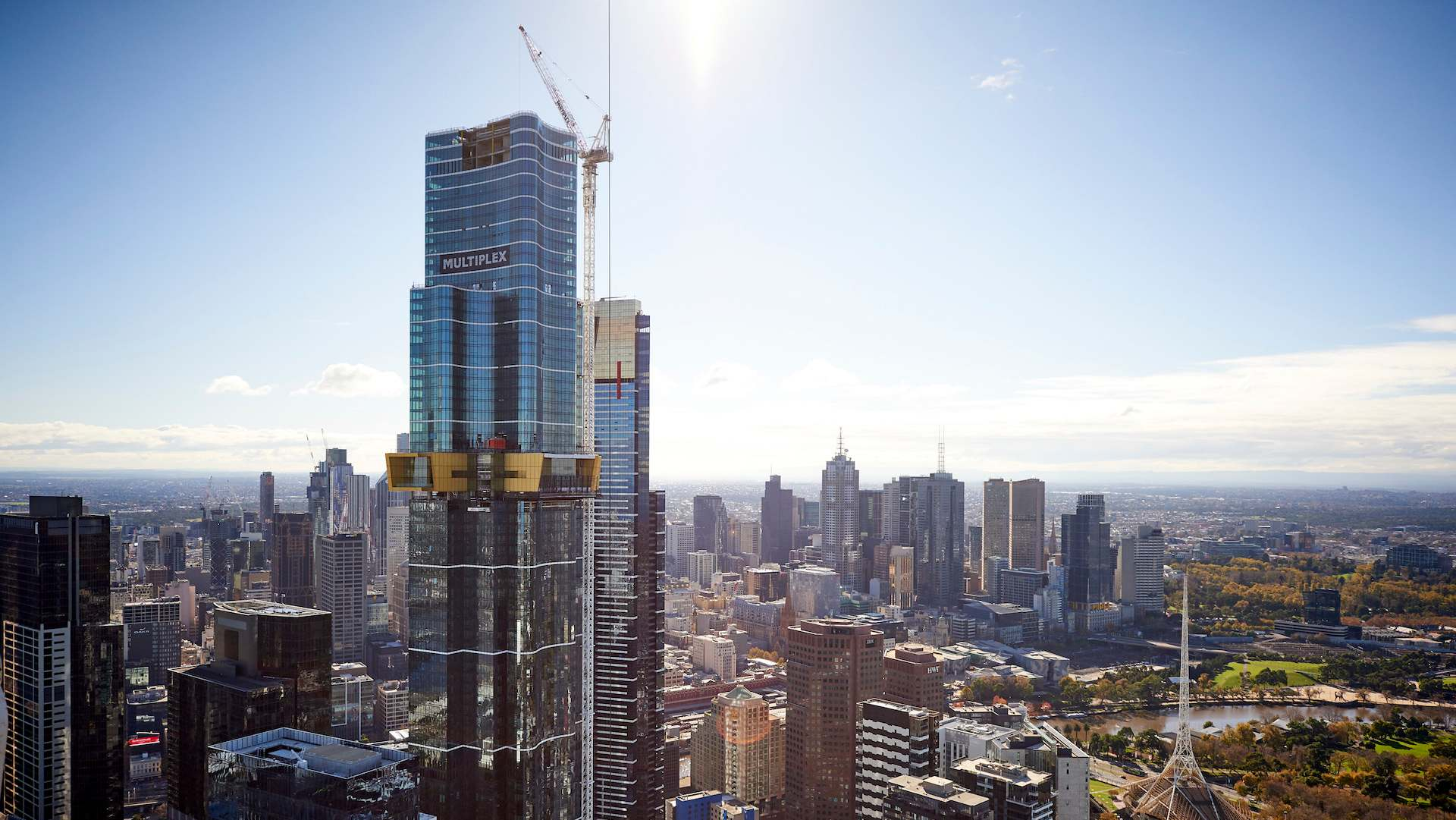 Melbourne's Australia 108 Tower Is Now Officially the Tallest Residential Building in the Southern Hemisphere
