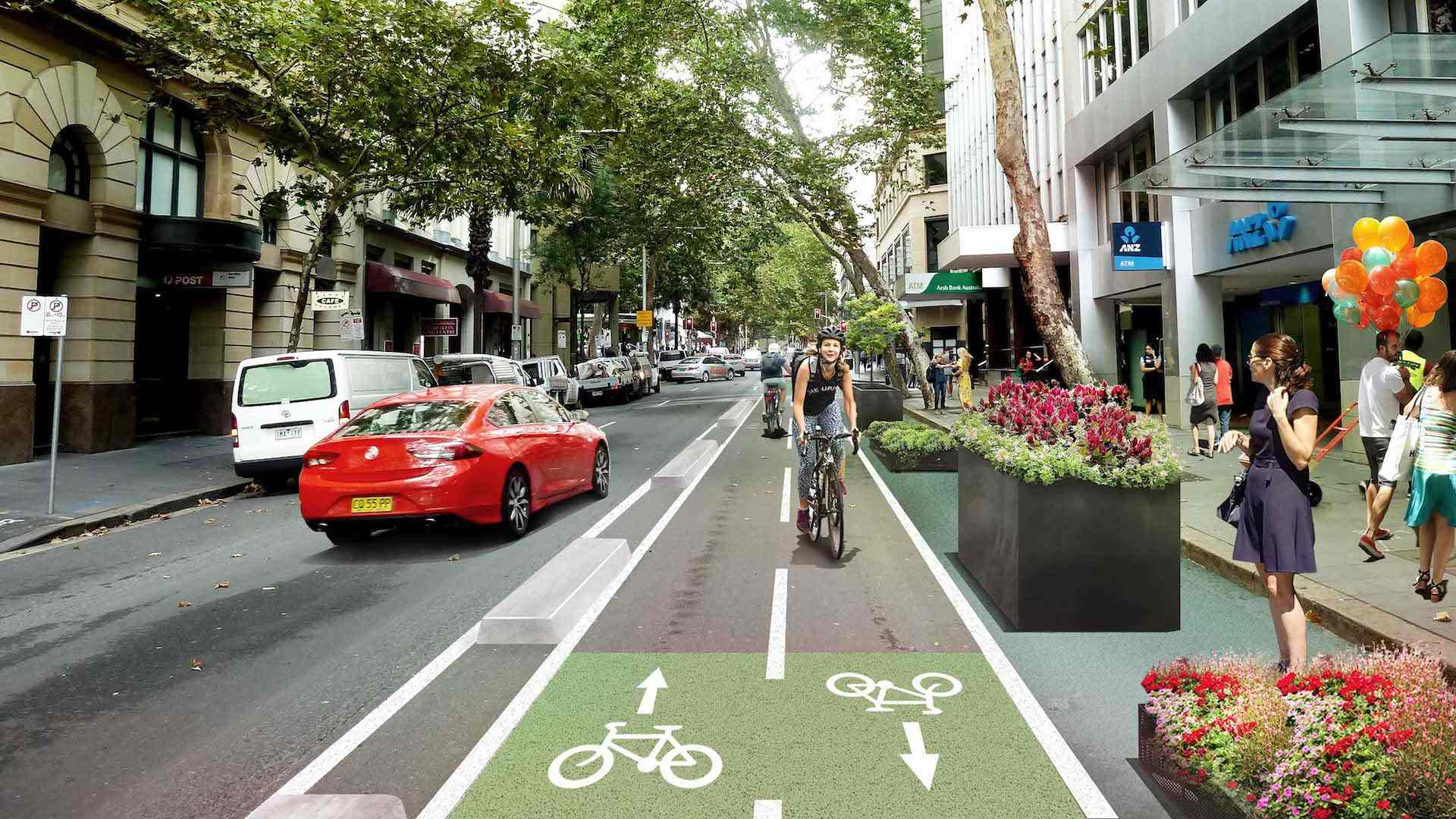 Sydney Is Getting Six New Temporary Bike Paths By the End of June