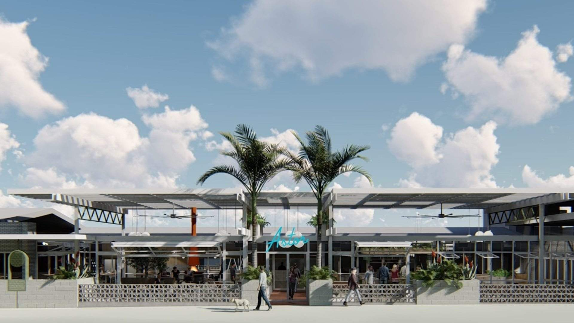 A Multimillion-Dollar Palm Springs-Inspired Motel Is Opening in Albury This Year