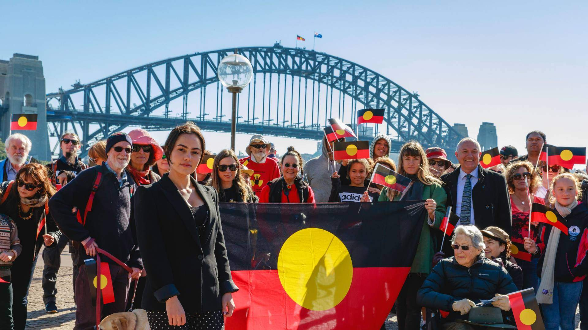 A Crowdfunding Campaign to Fly the Aboriginal Flag on the Harbour Bridge Has Raised $20,000