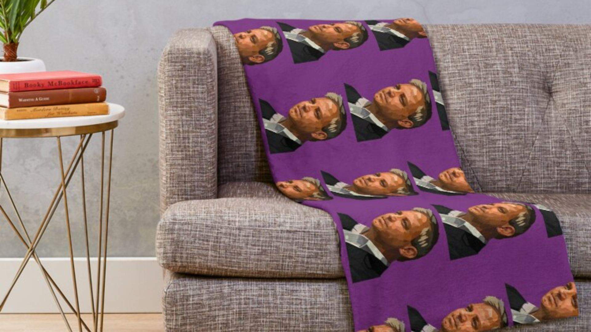 You Can Now Buy Pillows and Blankets Emblazoned with Chief Health Officer Brett Sutton's Face