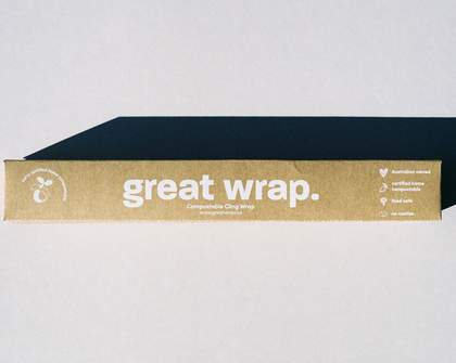 Great Wrap Is the New Alternative to Cling Wrap You Can Throw In Your Compost Bin