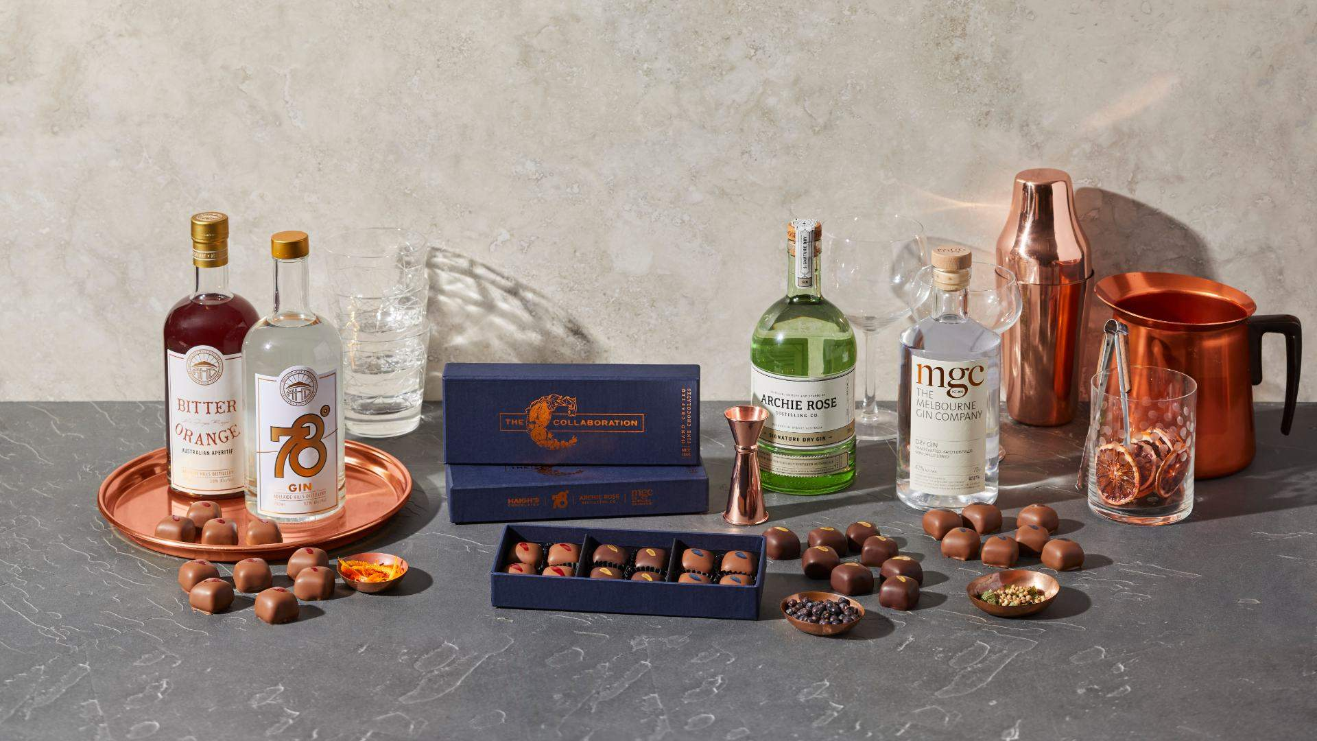 Haigh's Has Unveiled a Boozy Chocolate Collaboration with Three Aussie Gin Distilleries