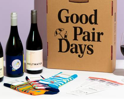 Good Pair Days Is Offering Special Socks and Wine Boxes for Vino-Loving Dads This Father's Day