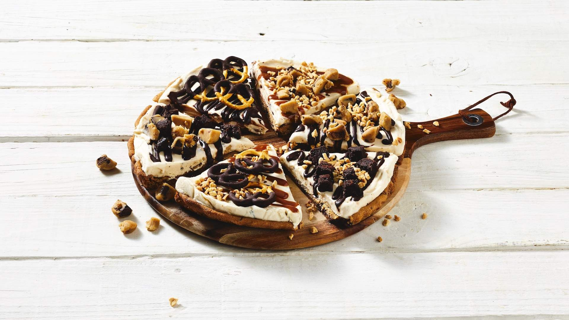 Ben & Jerry's Has Released an OTT Hot Fudge-Topped Ice Cream Pizza