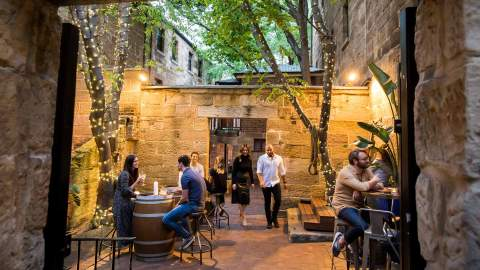 Sydney's Laneways, Streets and Car Parks Are Being Transformed Into Al Fresco Dining Areas