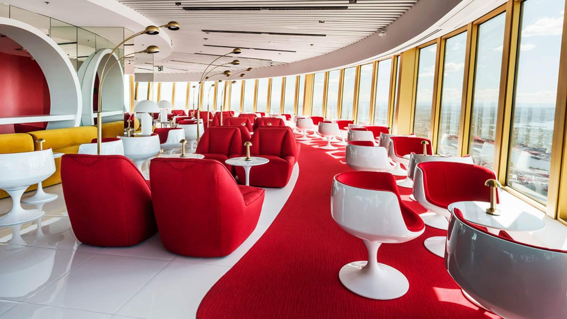 Bar 83 at Sydney Tower