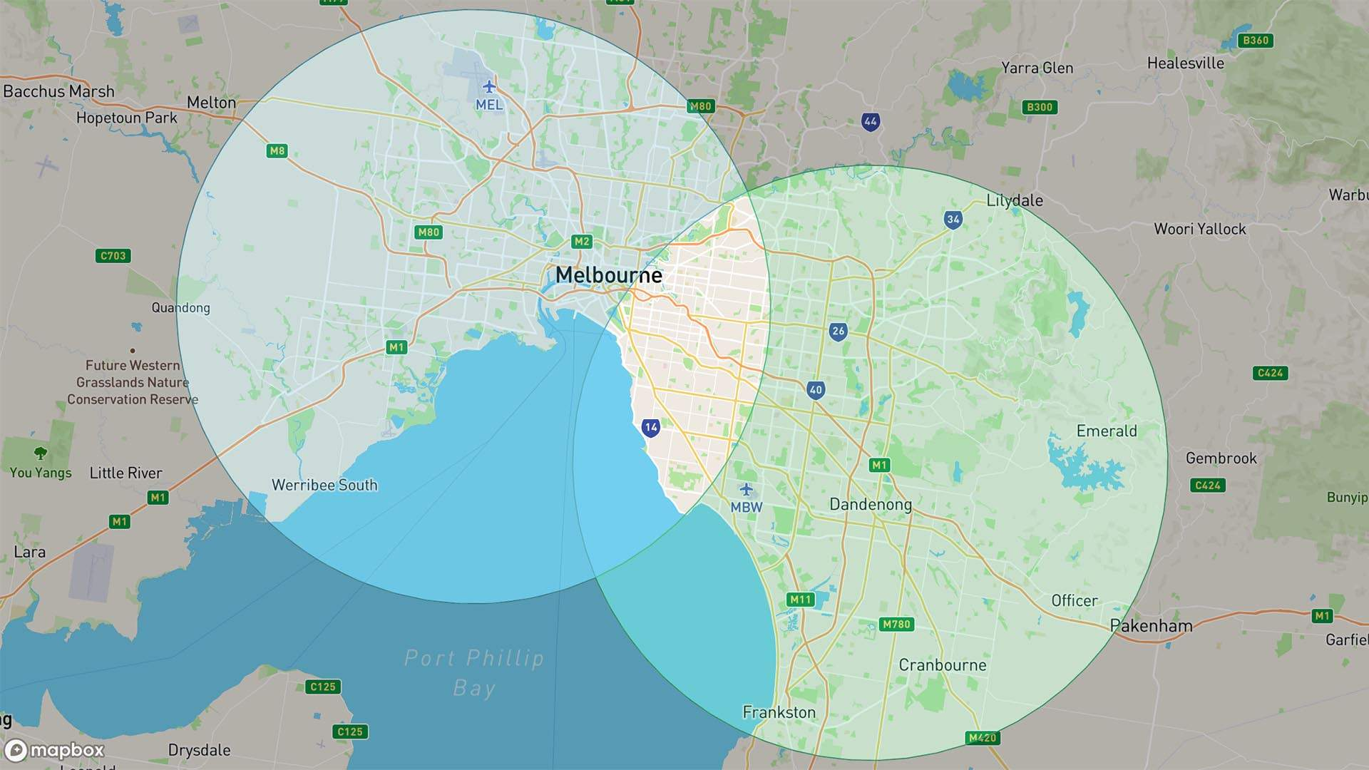 This Website Helps You Easily Find You and Your Mate's 25-Kilometre Bubble Crossover