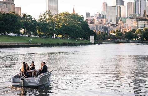 Melbourne's Pet-Friendly BYO Picnic Boats Are Returning to the Yarra Once Again