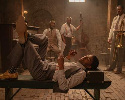 Chadwick Boseman Plays the Blues in the Trailer for His Final Film 'Ma Rainey's Black Bottom'