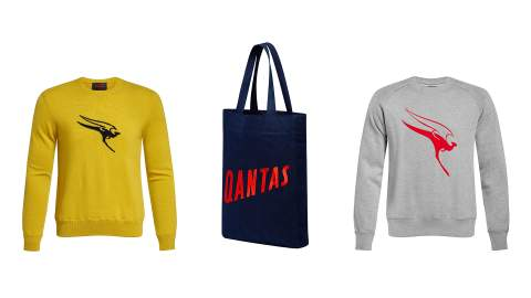 Qantas Is Now Selling Retro Athleisure Wear to Help You Pretend You're On Holidays