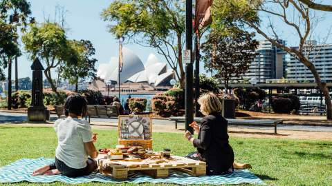 The Rocks Picnic