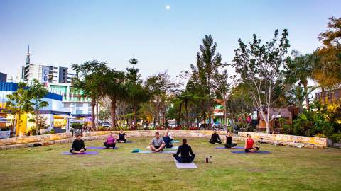 Yoga in The Common