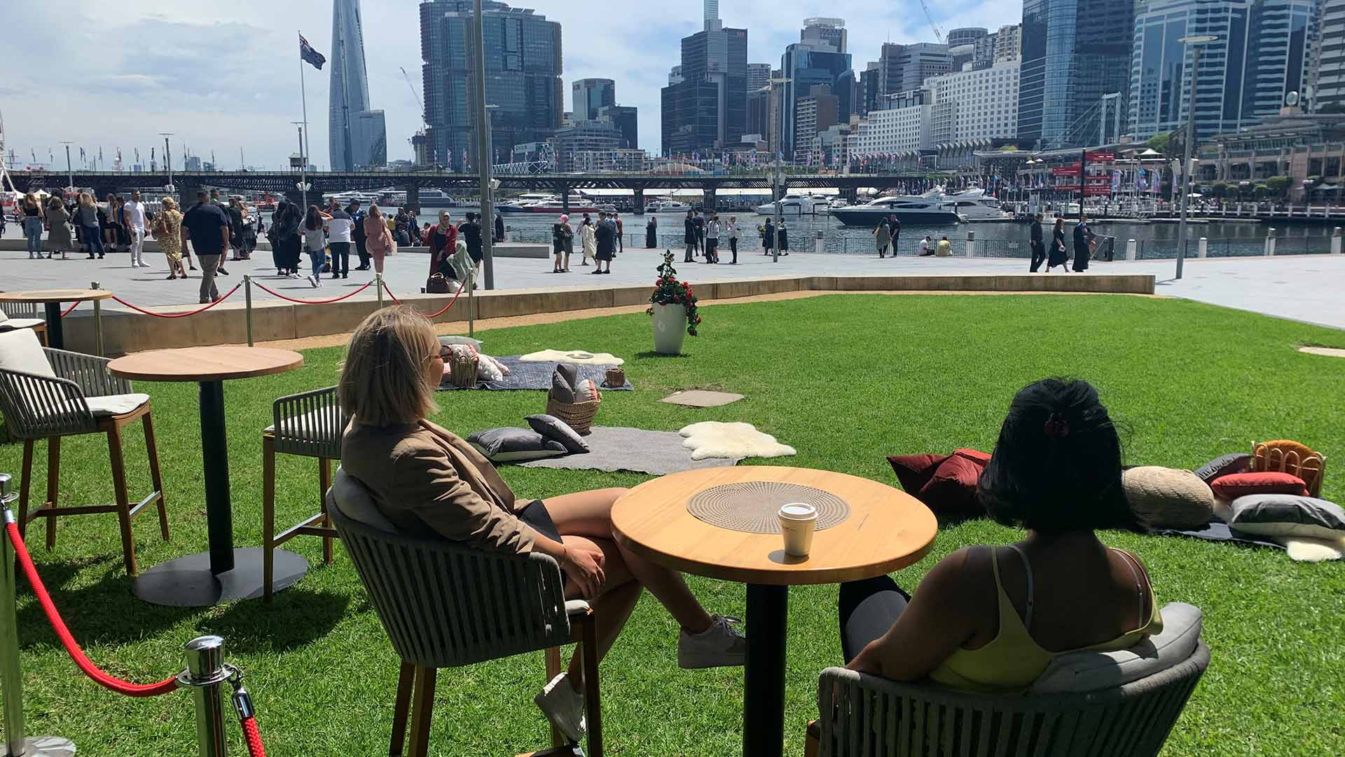 Darling Harbour Is the Next CBD Precinct to Get the Al Fresco Dining Treatment