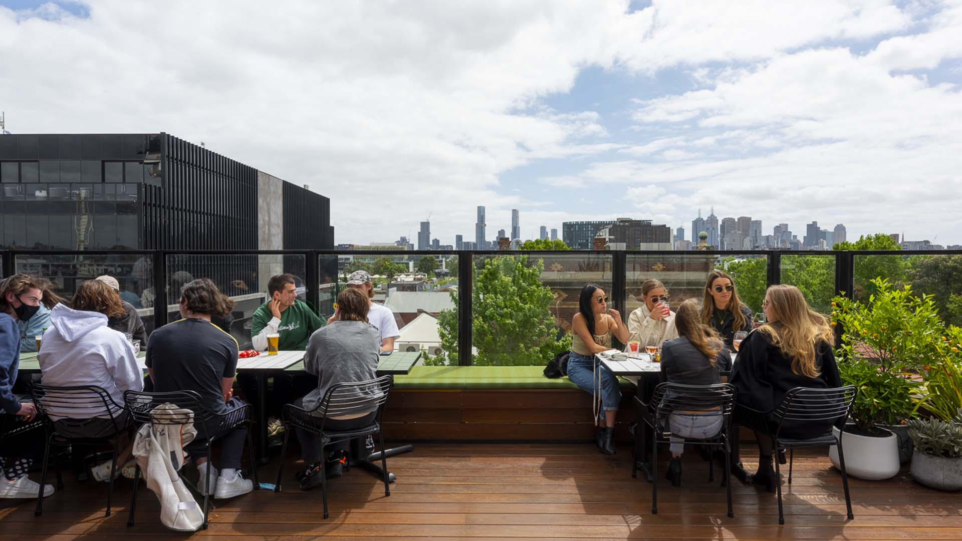 A $1.3-Million Rooftop Bar Has Just Opened Atop Richmond's Harlow Pub