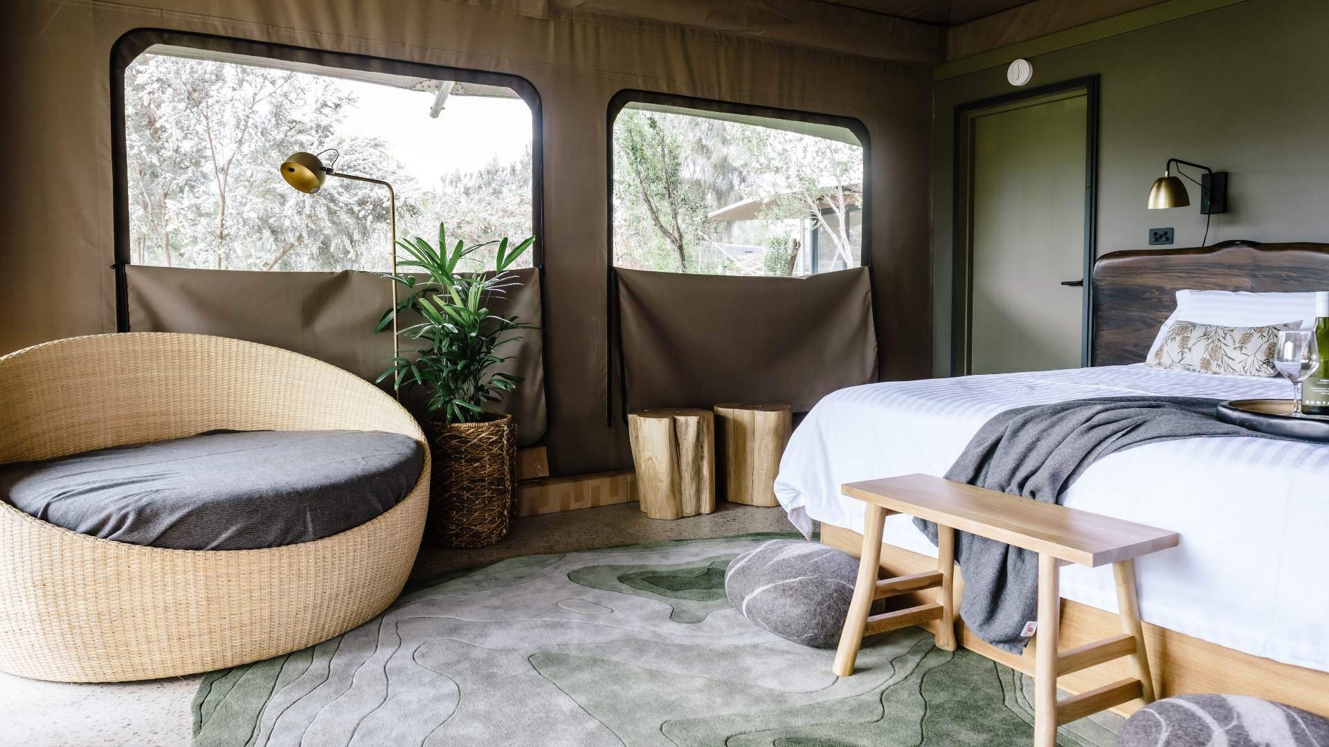The Six Best Glamping Spots Near Melbourne