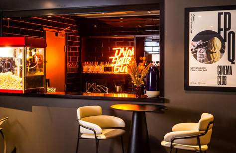QT Sydney Has Launched a Subterranean Cinema Club That Matches Retro Movies with Four Pillars Cocktails