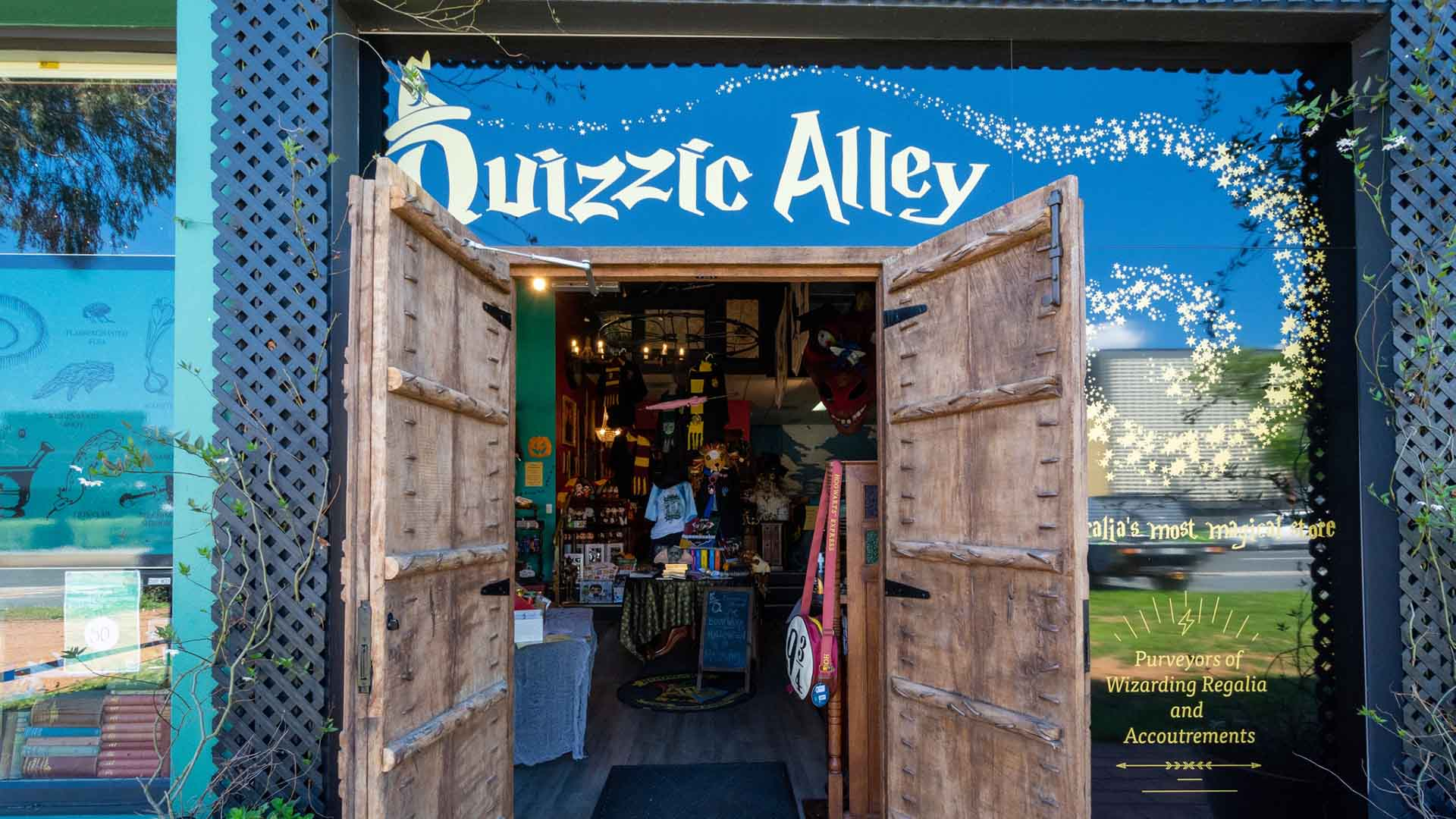 Canberra's Beloved 'Harry Potter' Store Quizzic Alley Is Bringing Its Magical Merchandise to Sydney