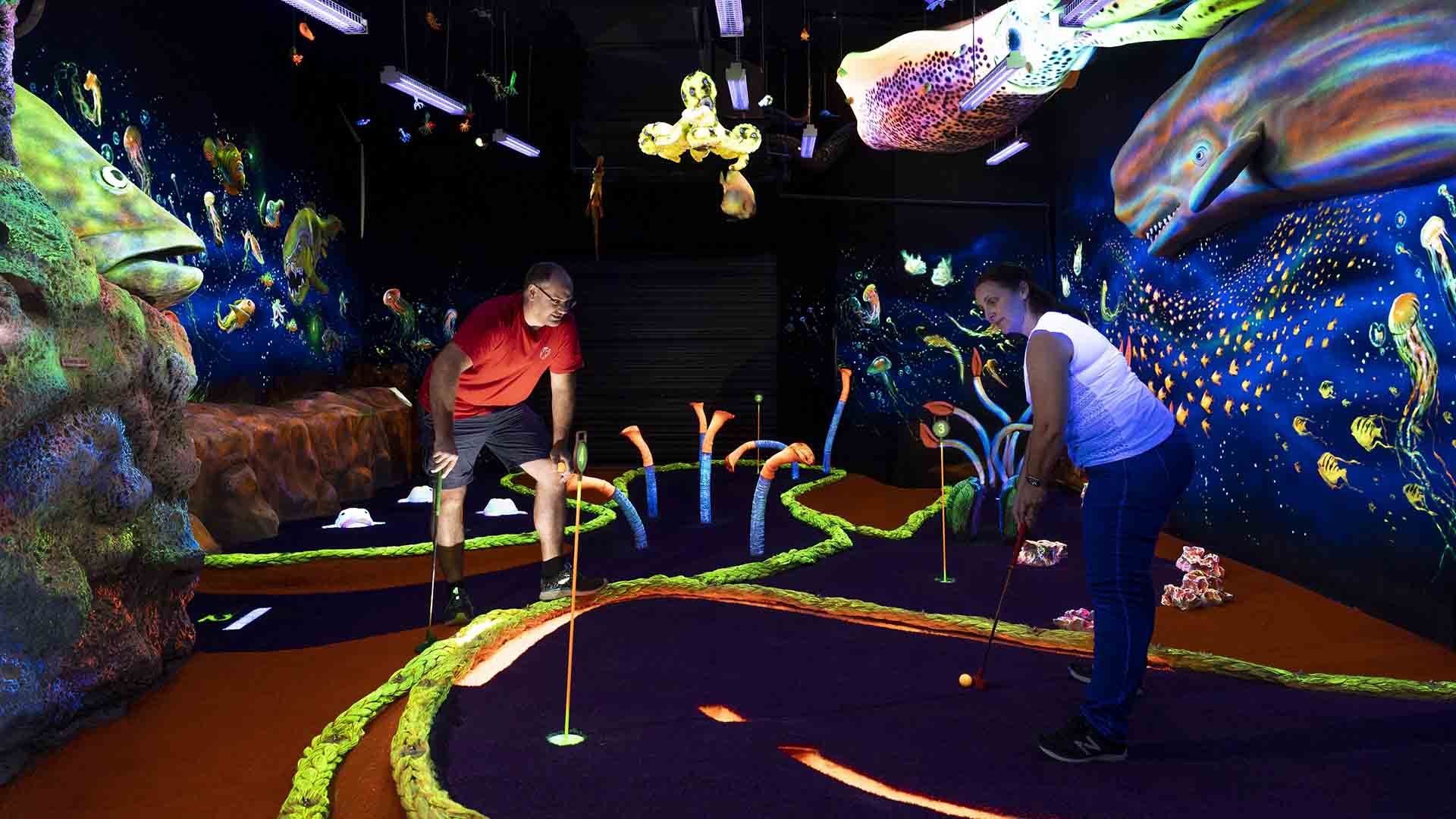 Undersea Putt & Play Is Redcliffe's New Underwater-Themed 18-Hole Mini Golf Course