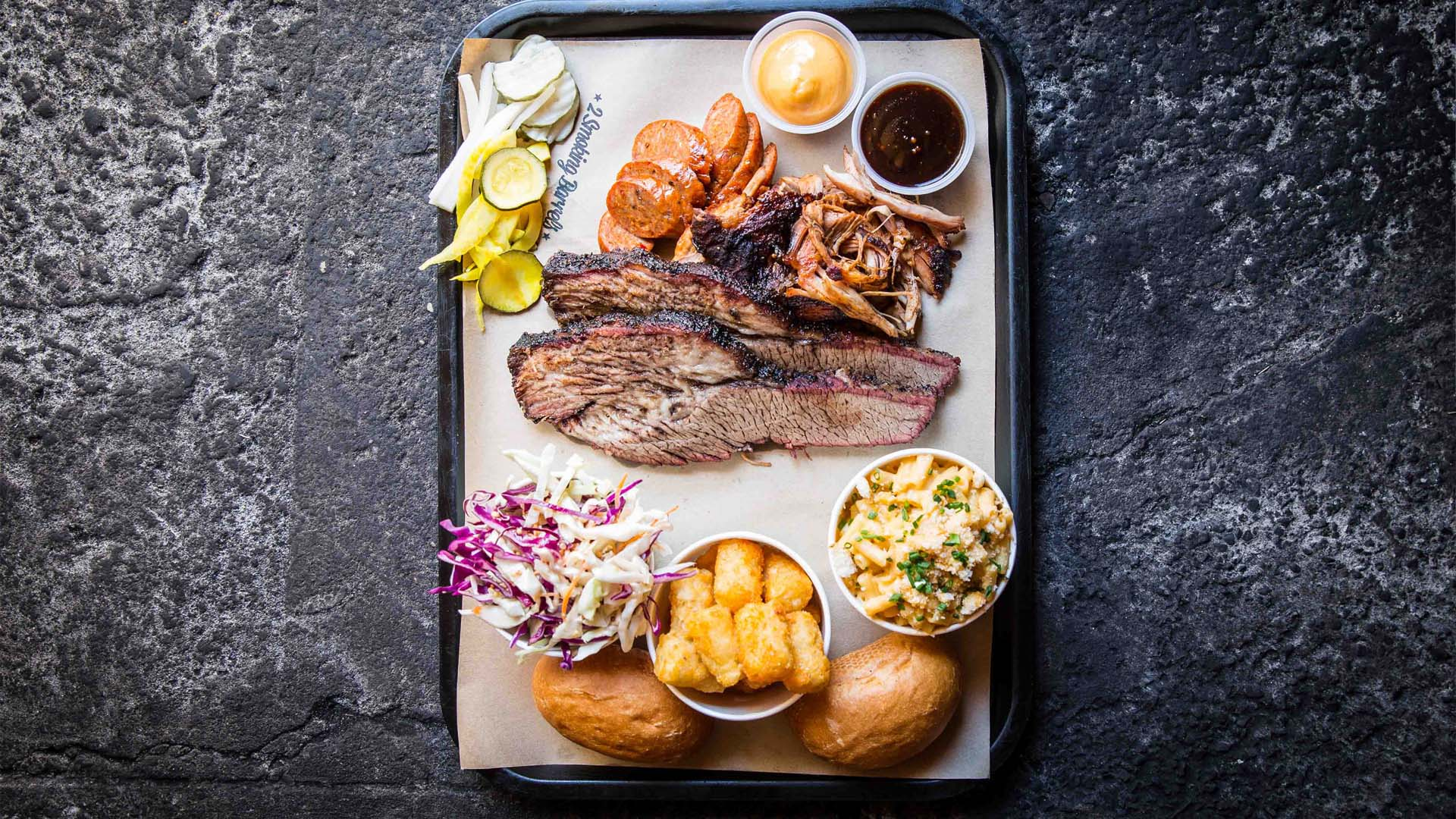 Two Smoking Barrels Barbecue Joint