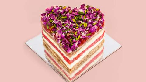 Black Star Pastry Is Serving Up a Heart-Shaped Version of Its Famed Strawberry Watermelon Cake