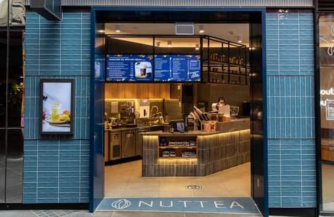 Australia's First All-Vegan Bubble Tea Shop Nuttea Has Opened in Melbourne's CBD