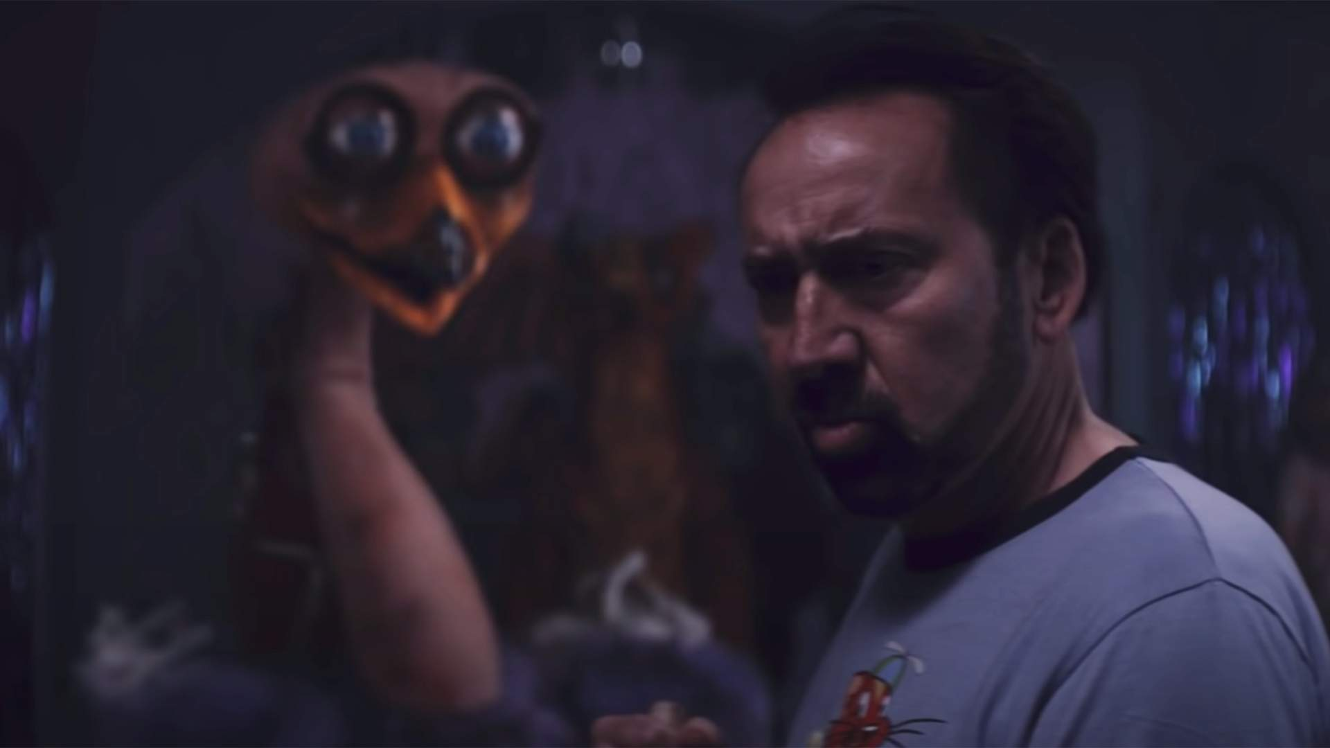 Nicolas Cage Tries to Survive a Possessed Fun Park in the Trailer for 'Willy's Wonderland'
