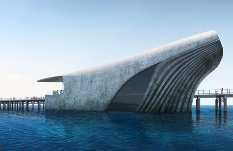 Australia Will Soon Be Home to a Whale-Shaped Underwater Observatory Two Kilometres Off the Coast