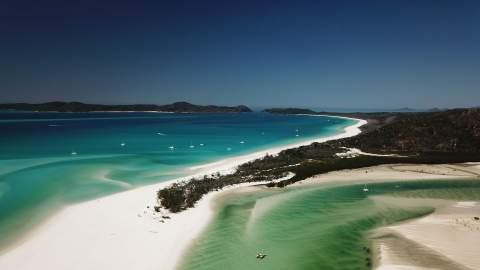 The Whitsundays' Whitehaven Beach Has Been Named the Best Beach in the World for 2021
