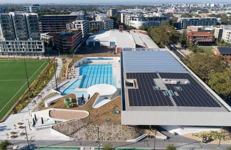 Sydney's Largest Aquatic Centre Since the 2000 Olympics Has Opened Its Doors in Green Square