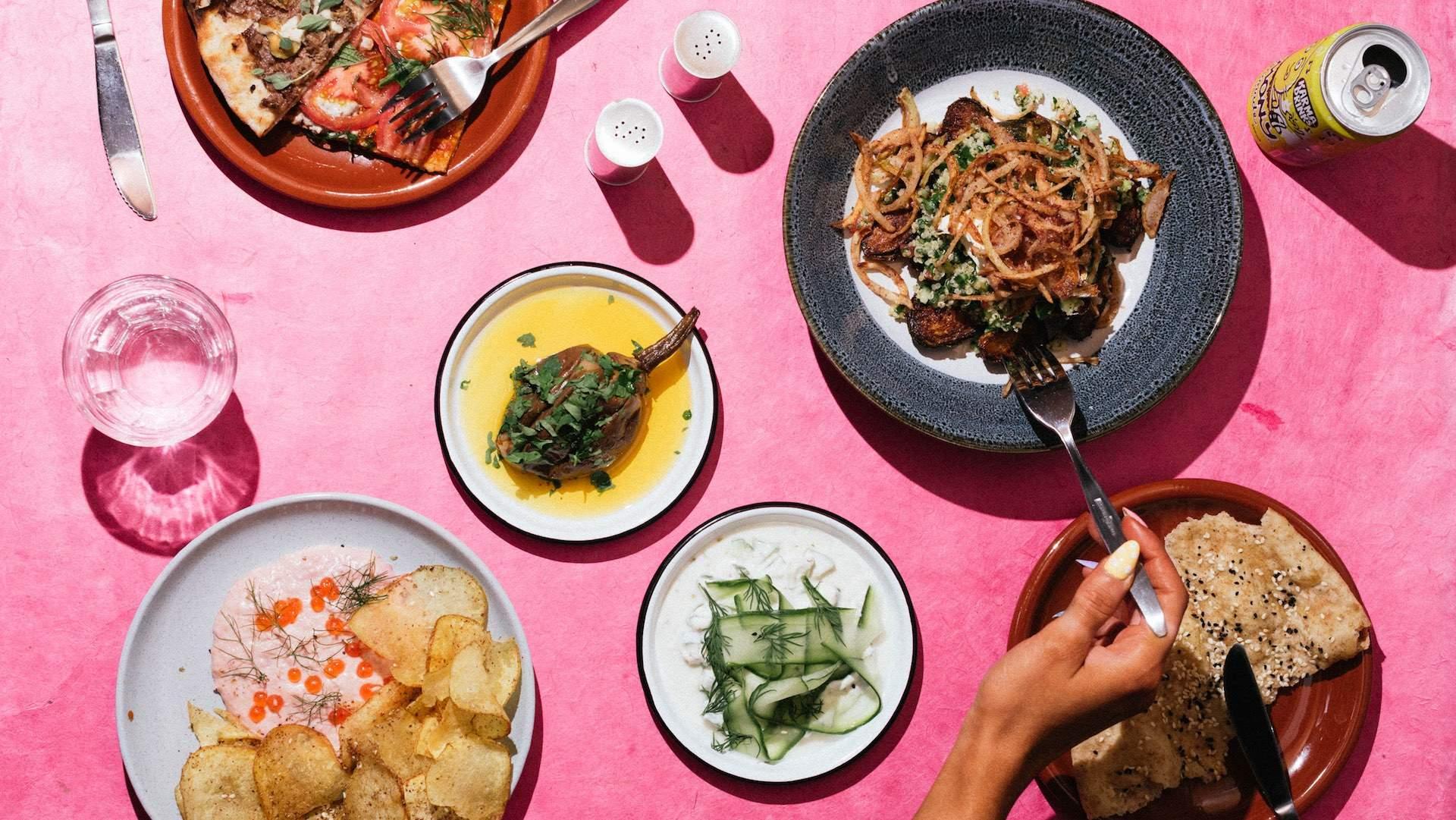 Kisa Is a New Wellington Pop-Up Serving Middle Eastern Cuisine