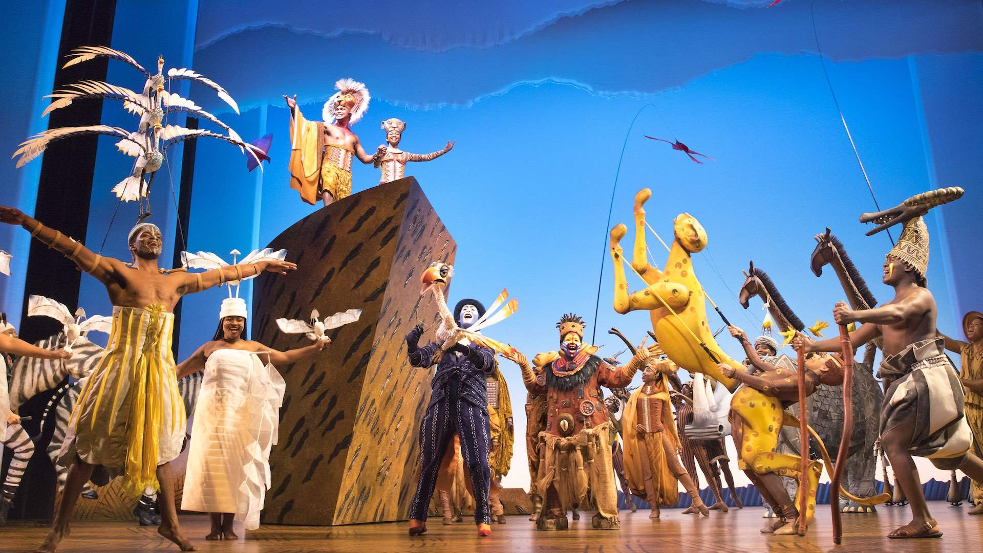 The Tony Award-WinningStage Production of 'The Lion King' Is Coming to New Zealand