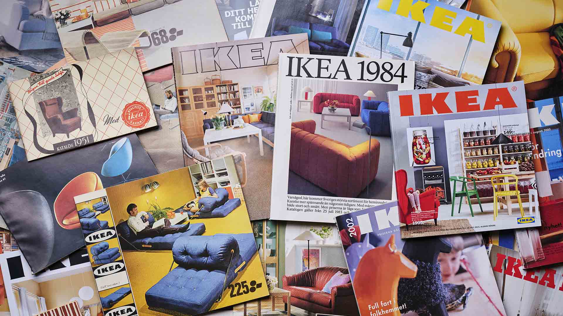IKEA Is Ditching Its Printed Catalogue After 70 Years