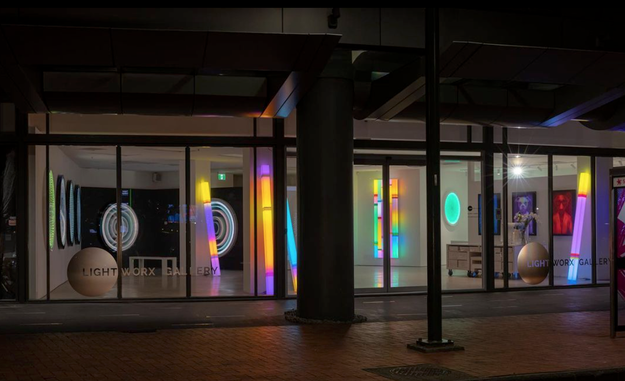 A New Gallery Showcasing Contemporary Light Artists Has Opened in Auckland's CBD