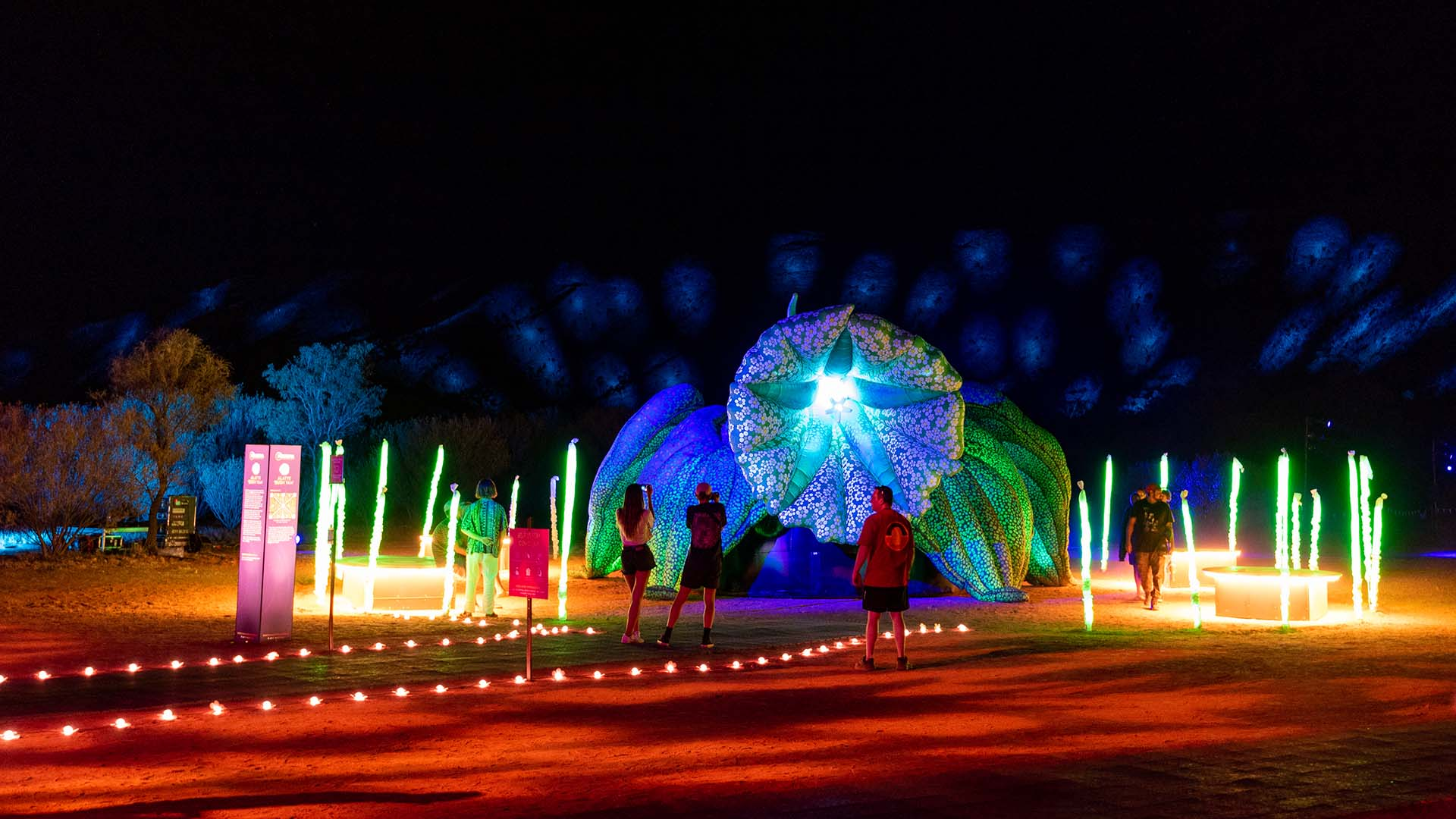 Alice Springs' Luminous Parrtjima Festival Has Revealed Its Full 2021 Program