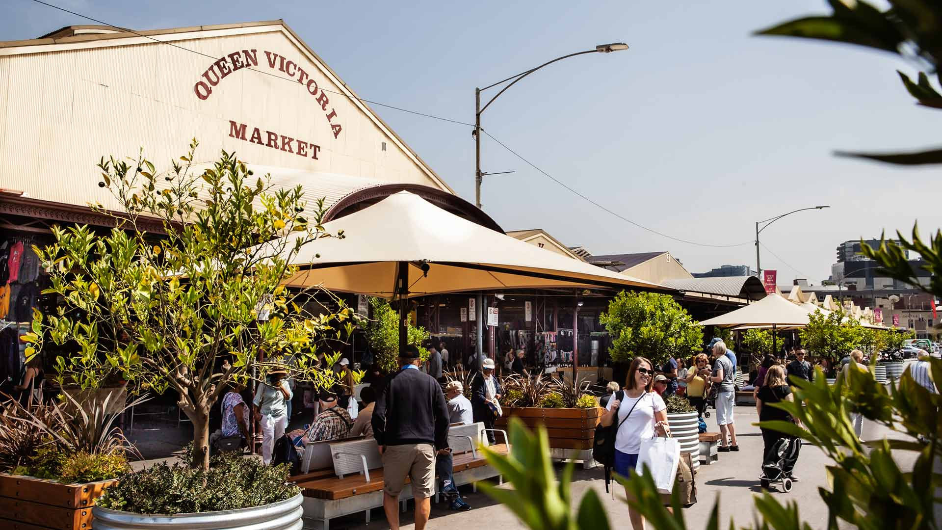 Plant-Based Paradise at Queen Victoria Market