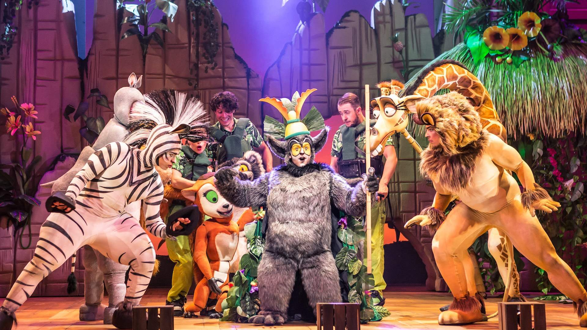 'Madagascar the Musical' Will Sing and Dance Its Way Down Under From August