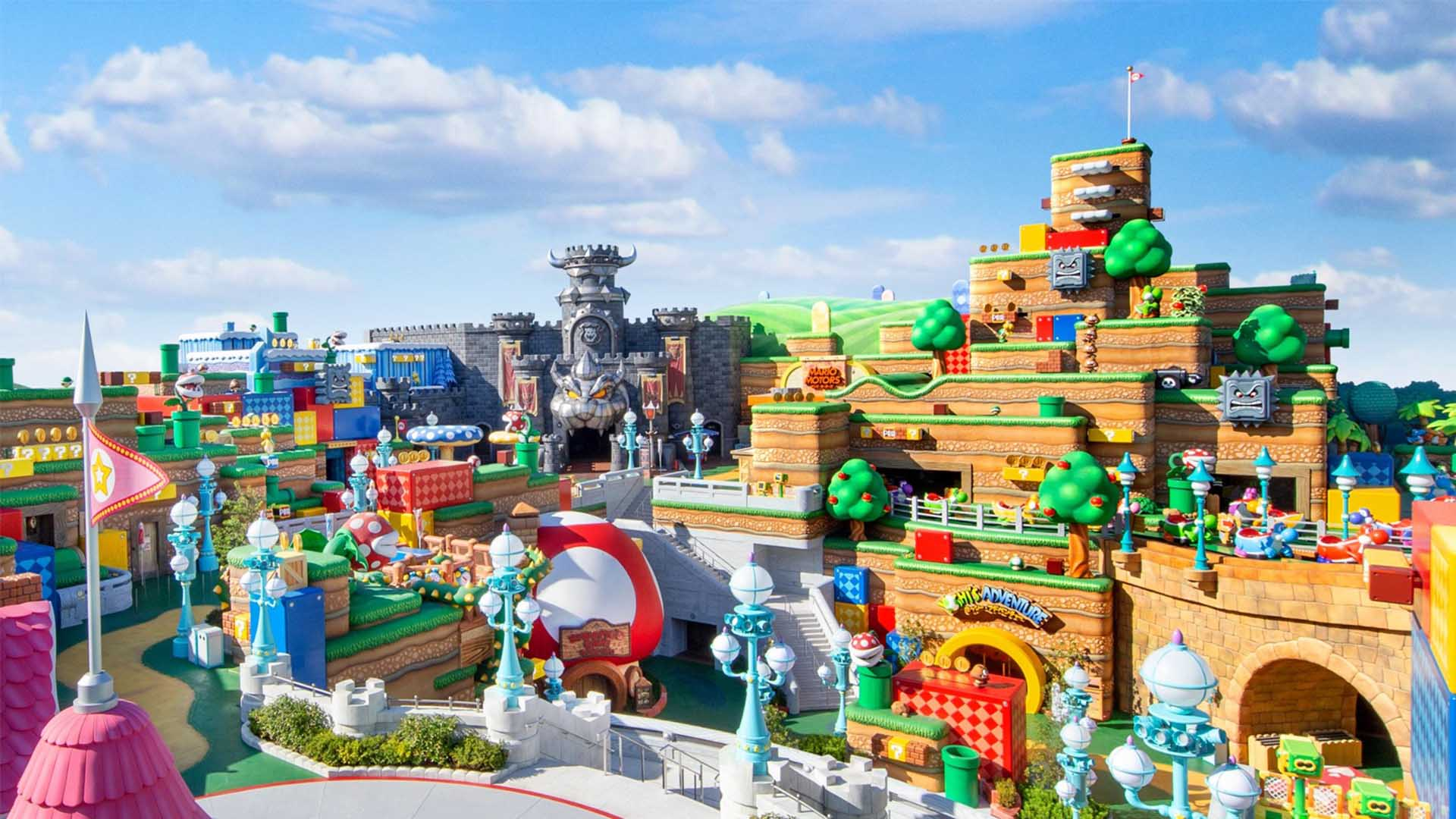 You Can Now Add Japan's Super Nintendo Theme Park to Your Post-Pandemic Travel List
