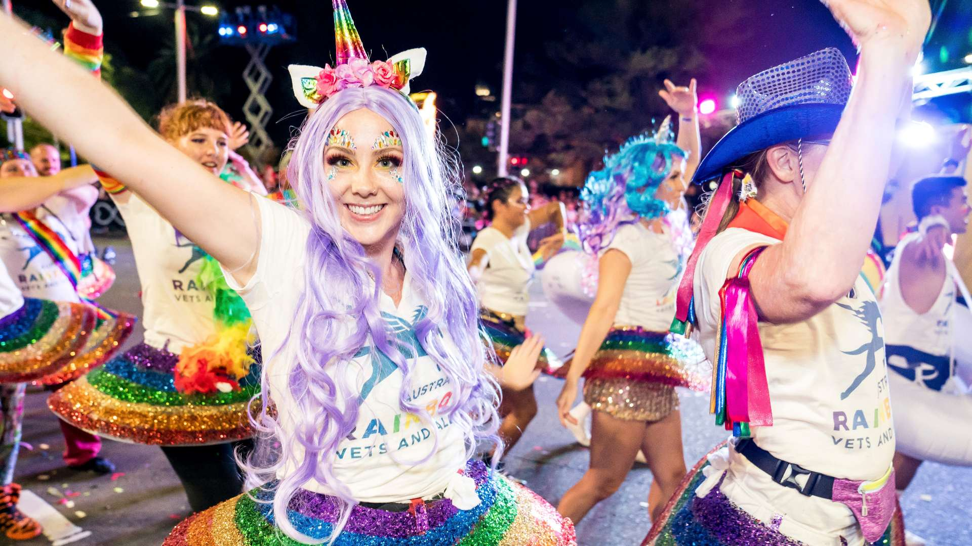 Sydney Gay and Lesbian Mardi Gras Parade participants