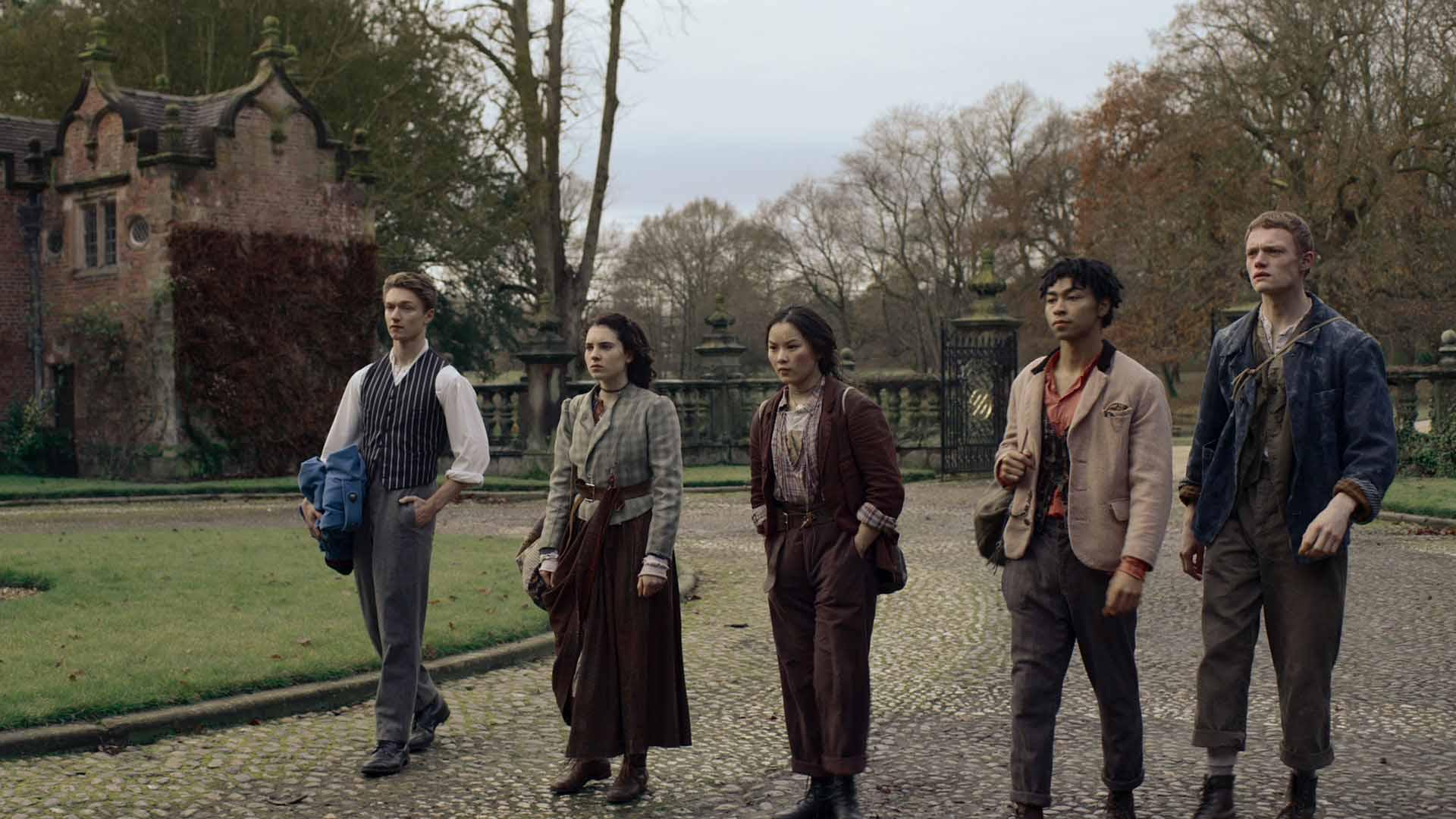 Netflix's New Supernatural Drama 'The Irregulars' Introduces the Team Behind Sherlock Holmes