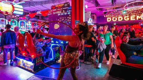Archie Brothers Is Hosting Adults-Only Circus and Cocktail Pop-Ups in Its East Coast Arcade Bars