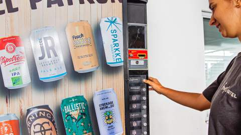This Indulgent New Booze Membership Includes an Entire Beer Vending Machine and a Year of Refills