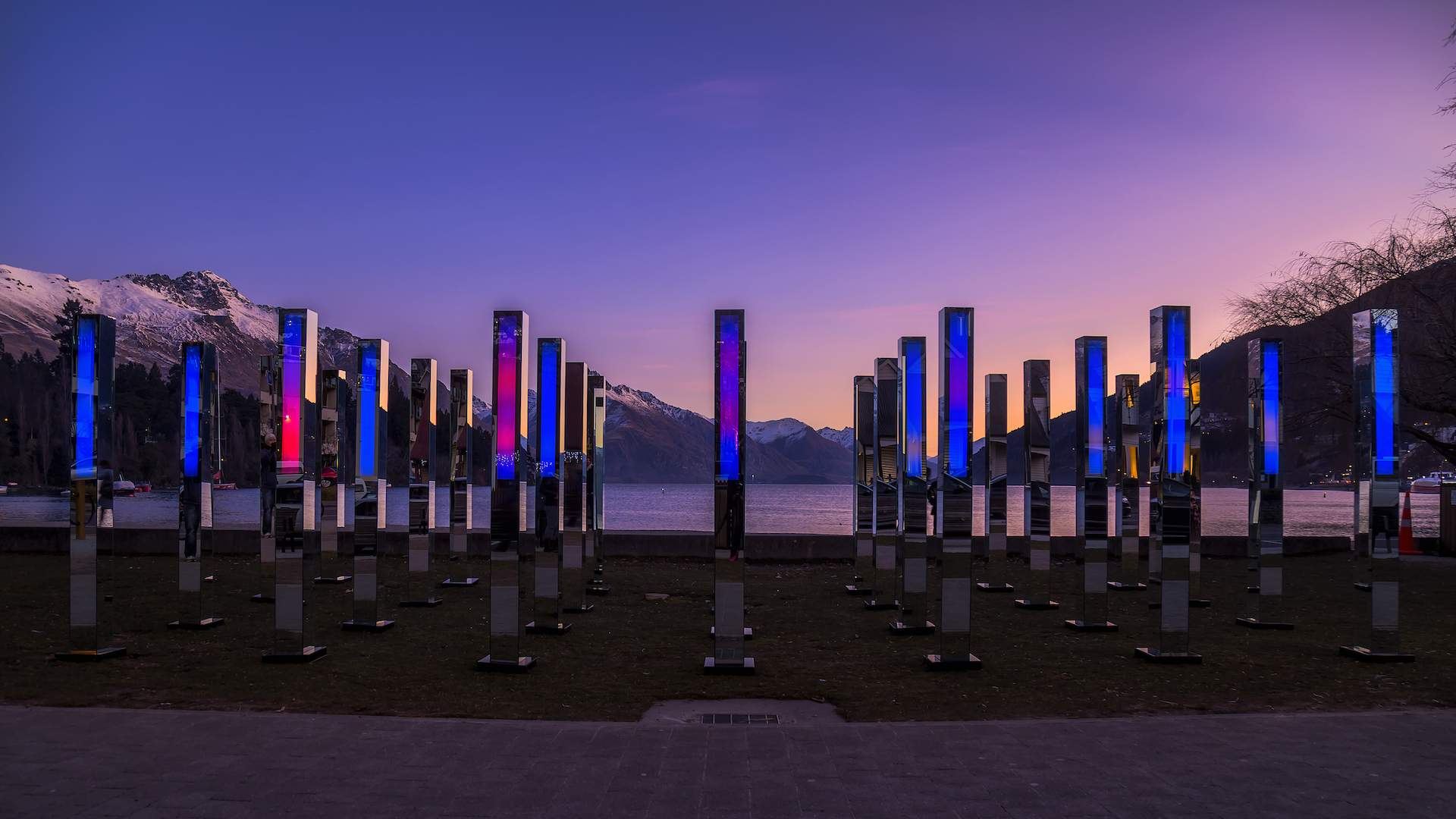 This Four-Day Festival Is Bringing Kaleidoscopic Light Installations and Performances to Queenstown