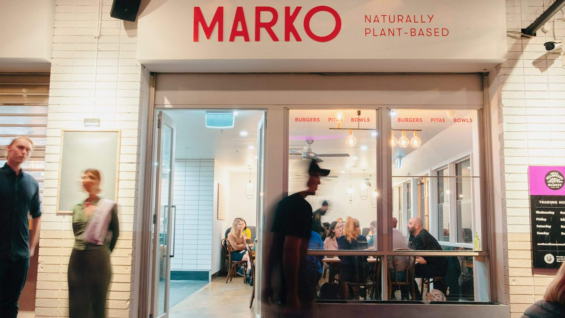Marko Is South Melbourne Market's New Plant-Based Lunch Spot For Pitas, Burgers and Bowls