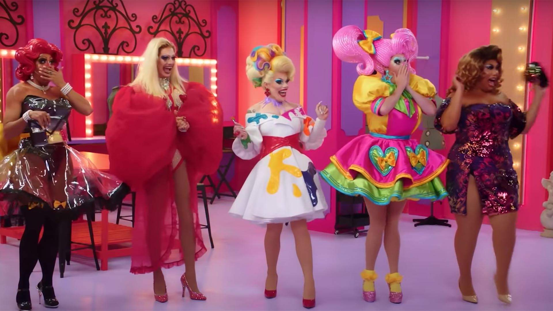 The 'RuPaul's Drag Race Down Under' Trailer Is Here with Eye-Catching Outfits and Ample Drama