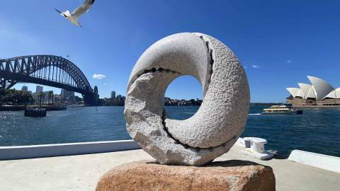 A Free Outdoor Japanese Sculpture Exhibition Is Taking Over The Rocks This Autumn