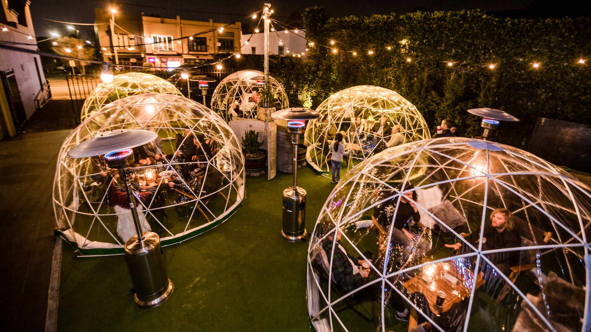 You Can Now Hire Out a Private Igloo for Dinner and Drinks at These Four Melbourne Venues