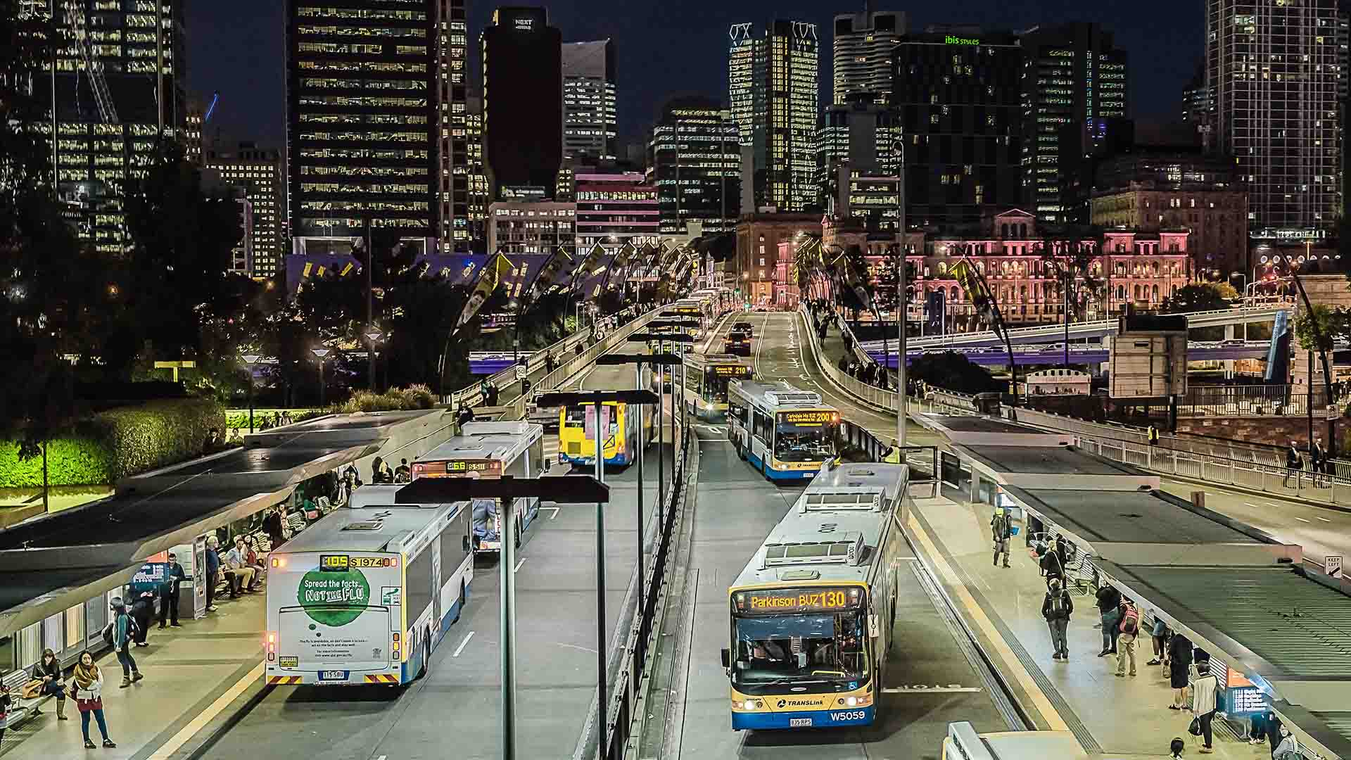 Brisbanites Could Win Free Public Transport for Year by Hopping on a Bus, Train or Ferry on a Friday