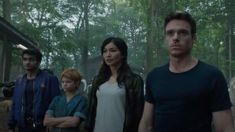 Marvel Has Just Revealed Its First Sneak Peek at Chloe Zhao's MCU Blockbuster 'Eternals'