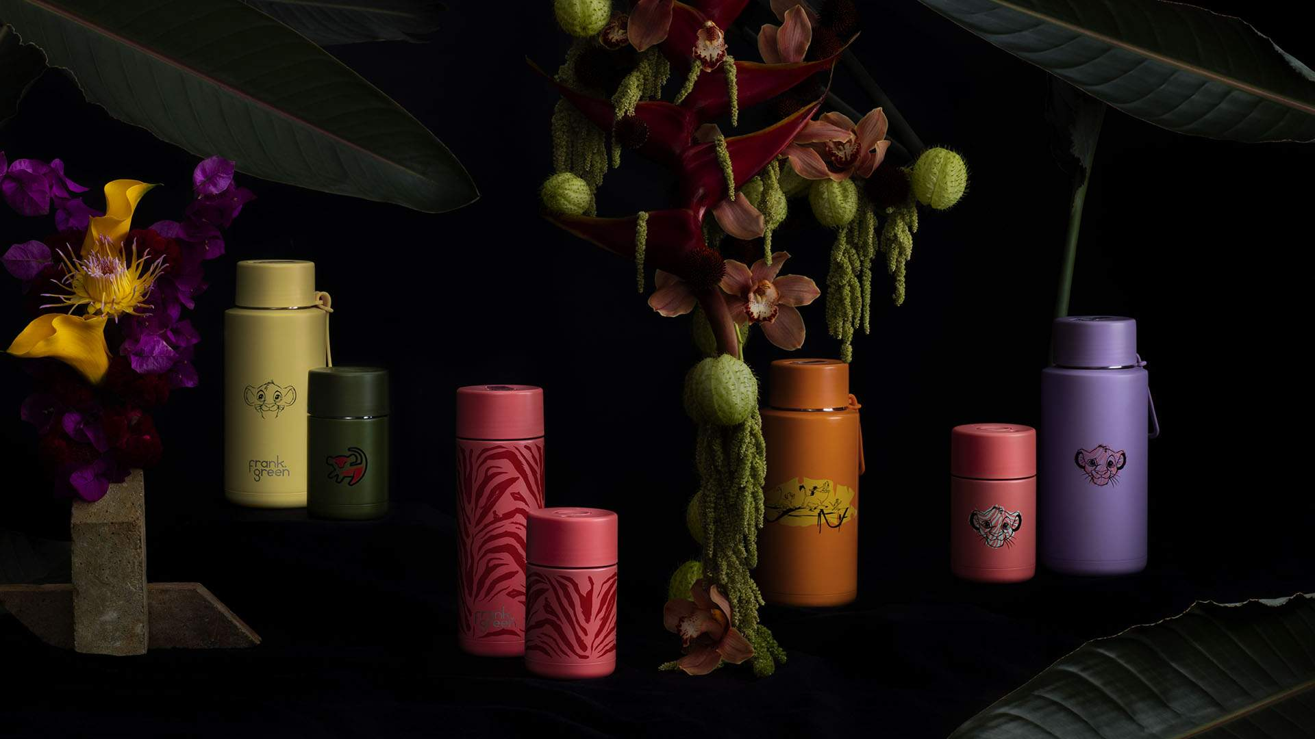 Frank Green Is Releasing a Range of 'Lion King'-Themed Keep Cups and Reusable Bottles